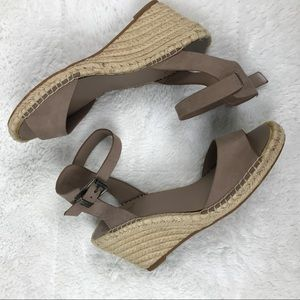 Vince Camuto 9.5 Espadrille Wedge Sandal Strappy
